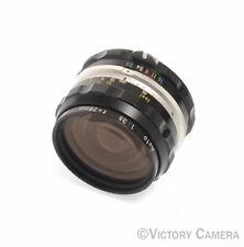 Nikon Nikkor-H 2.8cm 28mm f3.5 non-AI Manual Focus Lens –Clean- (9122-6)