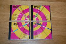100 Exitos del Pop Español 4 CDs