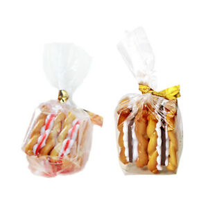 4pcs 1/12 Miniature Resin Biscuit Model Dollhouse Accessory Educational Toys