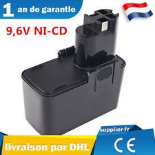 Batterie 9,6V pour Bosch 2607335035, 2607335037, 2607335072, 2607335152, BAT001