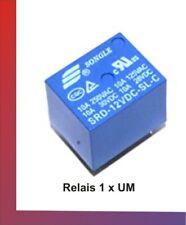 SRD-12VDC-SL-C Mini DC12V SONGLE Printrelais Miniatur Power Relais 1 x Wechsler