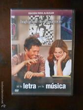 DVD TU LA LETRA YO LA MUSICA - EDICION DE ALQUILER - HUGH GRANT (5L)