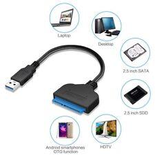 USB 3.0 zu SATA 22 Pin 2,5 Zoll Festplatte SSD Adapter Anschlusskabel Draht