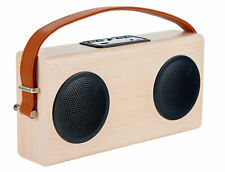 B-WARE Tragbarer Bluetooth Lautsprecher USB AUX MP3 Player Akku Radio Powerbank