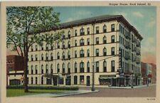 Old Postcard - Harper House - Rock Island IL