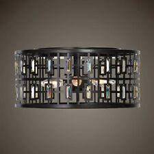 Uttermost Rhombus 22279 Flush Mount 4 Light Bronze Finish New in Box