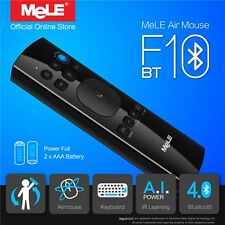 MeLE F10 BT Bluetooth Gyro IR Learning Wireless Air Mouse QWERTY Keyboard Remote