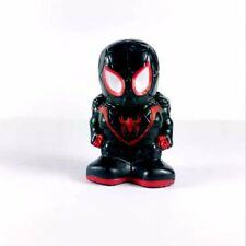 Rare OOSHIES Marvel Collection Comics Black Spiderman Pencil Topper Figure Toy