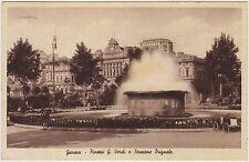 GENOVA - PIAZZA G.VERDI E STAZIONE BRIGNOLE 1946