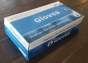 Powder Free Latex Gloves [100pcs/box] - MEDIUM - (2020 August Expiry)