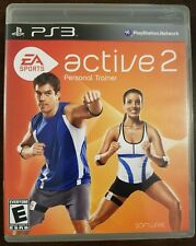 Active 2: Personal Trainer (Sony Playstation 3 PS3) EA Sports 2010