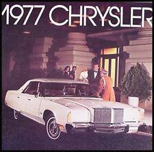 1977 Chrysler Dlx Brochure New Yorker Newport
