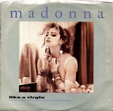 """MADONNA """"Like A Virgin"""" (45 RPM) 7"""" Vinyl Record w/ Picture Sleeve MINT"""