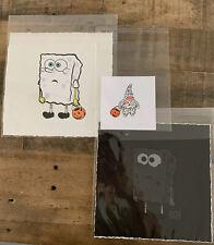 Johnny in Paris Friends with Ghost Print Set Sponge Bob Gondek Hebru Brantley