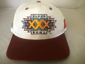 Super Bowl XXX Football Hat Cap Snap-back Logo 7 Official NFL Steelers AFC