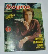 fotoromanzo SOGNO n 2 ( 1977 ) + POSTER CLAUDIA RIVELLI