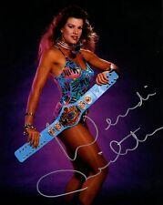Wendi Richter Signed Autograph WWE 8x10 Photo