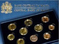 Brillant universel BU Malte 2011 (9 pièces dont la 2euros commémo + 1 jeton)