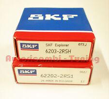 KITS ROULEMENTS ALTERNATEUR FIAT 500 126 SKF ORIGINAL 6203/2rs + 62202/2rs