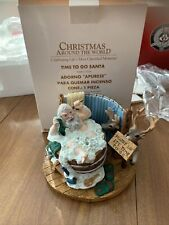 Christmas Around the World Time to Go Santa Incense Burner House of Lloyd Bath