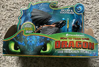 New! How to Train Your Dragon Hiccup and ToothlessToy Figure Hidden World 🌎 🐉
