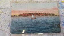Helgoland vom Meere aus AK Postkarte 6017