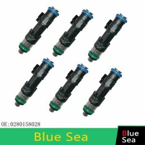 6 PCS fuel injector FOR 05-2010 Dodge Chrysler Chrysler 300 Town andamp StratuS