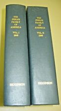 The Phelps Family of America and their English Ancestors, Vols 1-2