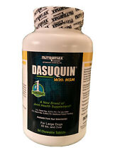 Dasuquin with MSM for Large Dogs 60 lbs + (84 Chewable Tablets) Exp 11/2023