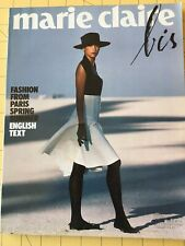 Marie Claire Bis French 1987 Spring summer fashion haute couture magazine Vogue