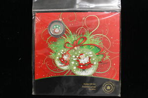 2009 Canada. Holiday Coin Set. Colorized Quarter. Mint Sealed. (#11)