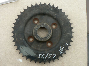 BSA B31/B33 REAR SPROCKET 1956/57 SHOP SOILED