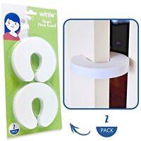 Child Door Stopper | Door Slam Prevention | Finger Pinch Guard (2pk)