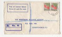 New Zealand Registered Cover 6 Jul 1965 Oaklands to Christchurch  066c