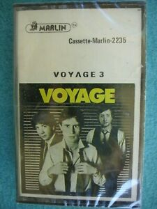 VOYAGE 3 Factory Sealed Cassette 1980 Disco Pop Rock Synth Tight Great Harmonies