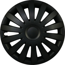 4X15 FORD WHEEL TRIMS HUB CAPS RADKAPPEN MATT BLACK