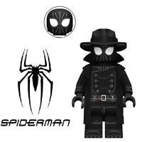 Noir Spider-Man Into The Spiderverse Custom Minifigure Minifig Mini Figure 208