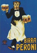 "Vintage Werbeschild ""1910 PERONI BIER""ITALIEN WERBUNG,ADVERTISING,POSTER,REKLAME"