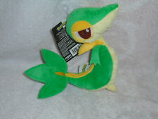 "Pokemon Snivy Plush Toy Stuffed Animal (Jakks Pacific 2011) 7"" Nintendo NWT"
