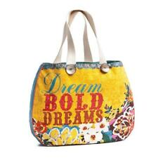Dream Bold Dreams Yellow Tote by Melody Ross Brave Girl Fashion 102084