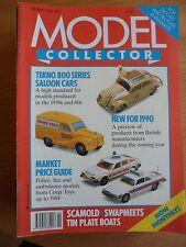 Model Collector Magazine February 1990