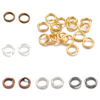 10g Strong Brass Open Jump Rings Unsoldered Loops Round 4mm 5mm 6mm 7mm 8mm 10mm