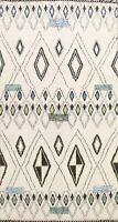 Vegetable Dye Moroccan Berber Oriental Area Rug Tribal Handmade Wool Carpet 6x9