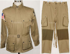WWII US M42 AIRBORNE JUMPSUIT JACKET TROUSERS XXL-45421