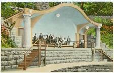 c1915 Eureka Springs Arkansas band assembled in Basin Park Band Stand