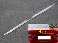 For Mazda3 Sedan 2014-2018 Chrome Rear tail Trunk Lid molding trim strip