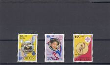 a134 - NETHERLANDS ANTILLES - SG1005-1007 MLH 1990 CULTURAL & RELIEF FUNDS
