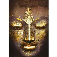 Full Drill 5D Diamond Painting Embroidery Decor Cross Stitch Kits Buddha DIY
