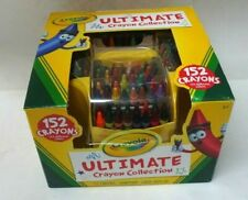 Gently Used Crayola Ultimate Crayon Collection w/Yellow Caddy 152 Crayons w/Box