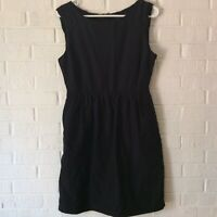 J. Crew Womens Black Dress Size 8 Sleeveless